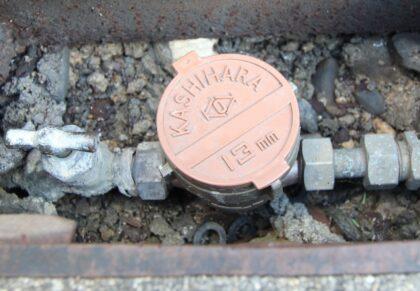 物件調査 水道メーター