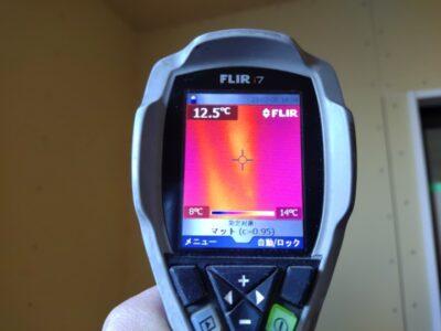 住宅診断 新築 赤外線サーモグラフィー